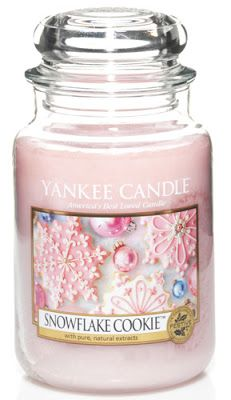 snowflakes cookie yankee candle