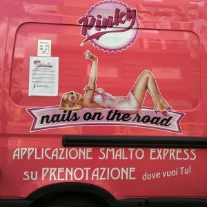 nail on the road myfloreschic