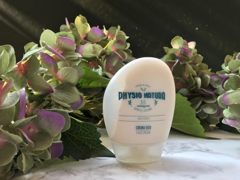 crema viso di physionatura all'estratto di ribes - myfloreschic