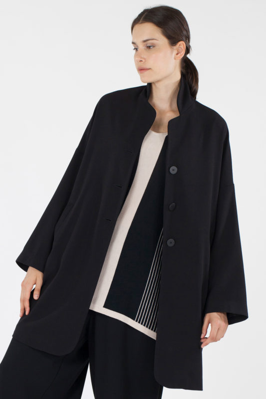 cappotto in lana Martino Midali Myfloreschic